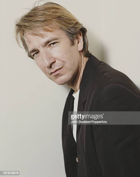 English actor Alan Rickman 1991