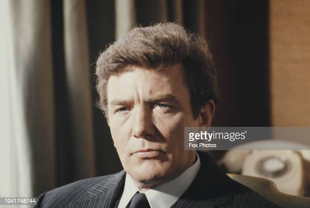 English actor Albert Finney, 1985.