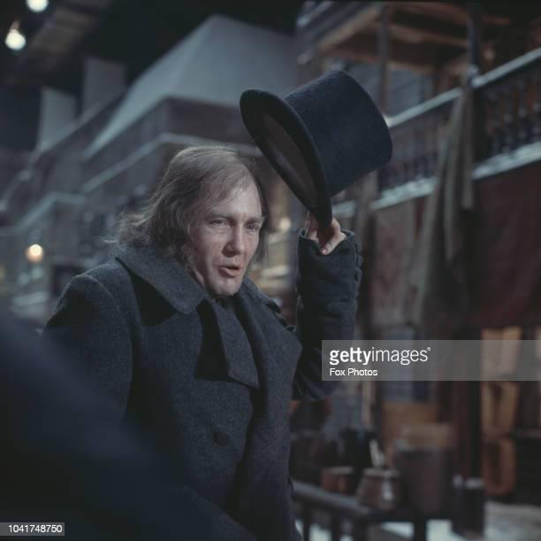 English actor Albert Finney as Dickensian antihero Scrooge in the musical film 'Scrooge' 16th January 1970