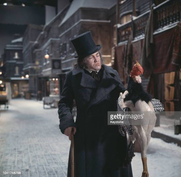 English actor Albert Finney as Dickensian antihero Scrooge in the musical film 'Scrooge' 16th January 1970