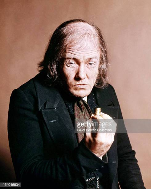 English actor Albert Finney as Ebenezer Scrooge in 'Scrooge' directed by Ronald Neame 1970