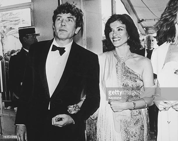 English actor Albert Finney with his girlfriend actress Diana Quick circa 1979