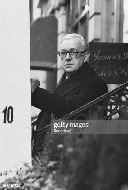 English actor Alec Guinness UK 29th December 1978