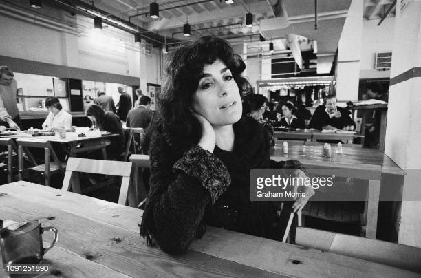 English actor and author Eleanor Bron UK 14th April 1980