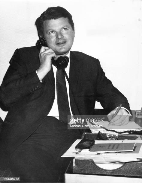 English actor and comedian Benny Hill poses for a portrait in circa 1960