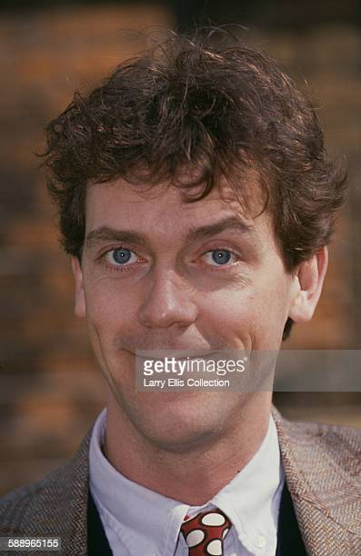 English actor and comedian Hugh Laurie circa 1995