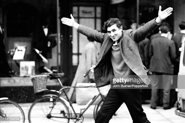 English actor and comedian Peter Cook 1960