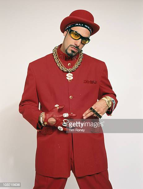 English actor and comedian Sacha Baron Cohen in character as Ali G circa 2002