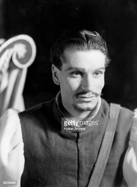 English actor and director Laurence Olivier later Lord Olivier as Iago in 'Othello' at the Old Vic London