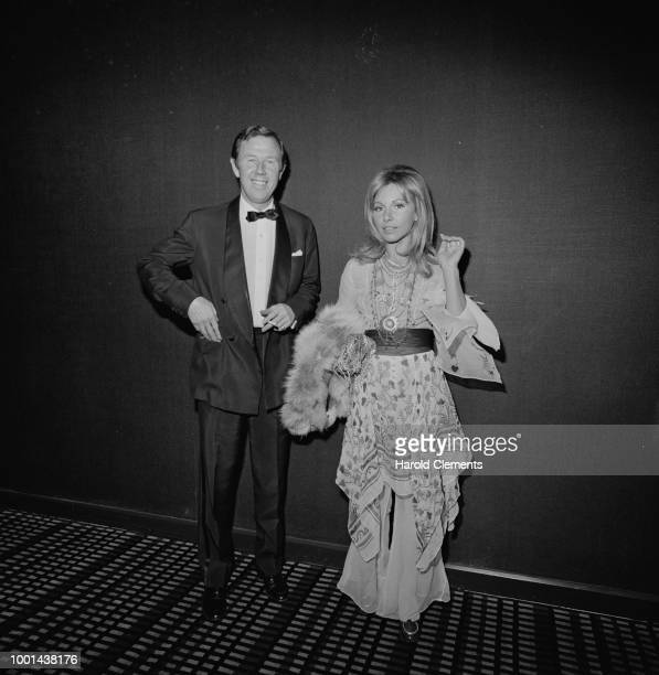 English actor and film producer Michael Medwin with American singer and actress Nancy Sinatra UK 5th February 1969