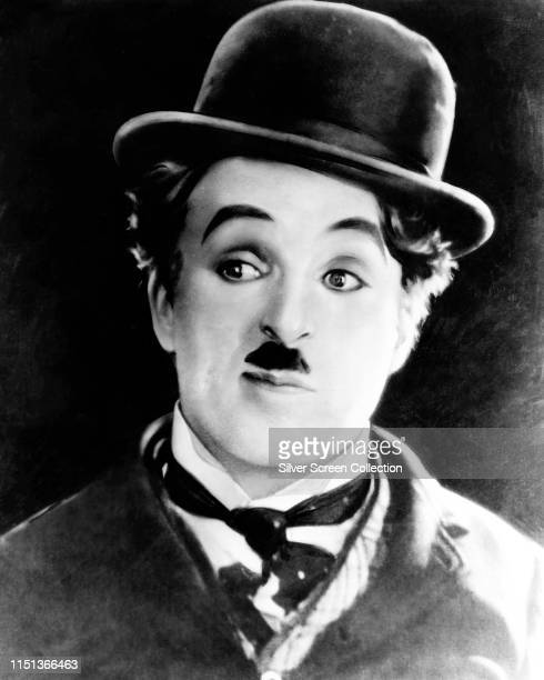 English actor and filmmaker Charlie Chaplin as the Tramp in the silent film 'The Circus' 1928