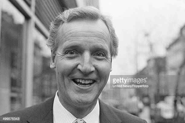English actor and presenter Nicholas Parsons in London on 29th January 1985