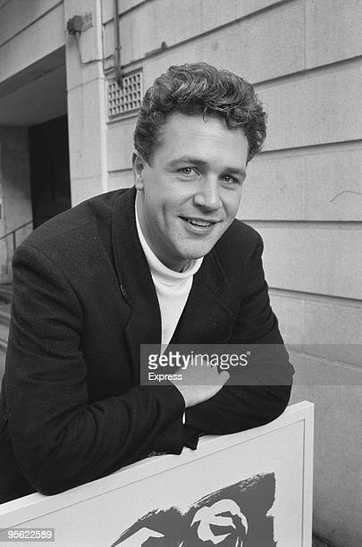 English actor and singer Michael Ball, 20th December 1988. He is starring as Alex in Andrew Lloyd Webber's musical 'Aspects Of Love' at the Prince of...