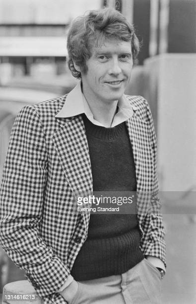 English actor and singer Michael Crawford, star of the musical 'Billy' at the Theatre Royal Drury Lane, London, UK, 12th February 1974.