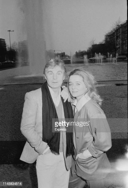 English actor and stage director Derek Jacobi and Irish actress Sinéad Cusack UK 13th April 1984