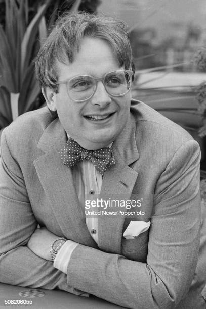 English actor and television presenter Christopher Biggins posed in London on 30th April 1984