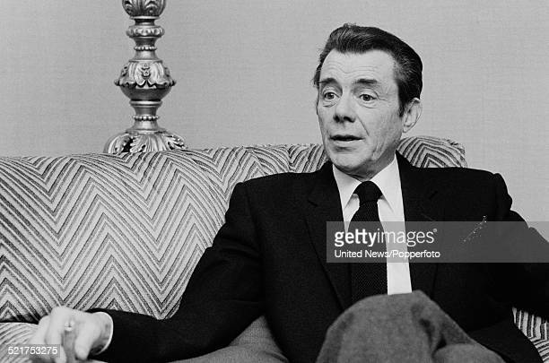 English actor and writer Dirk Bogarde pictured in London on 18th March 1980