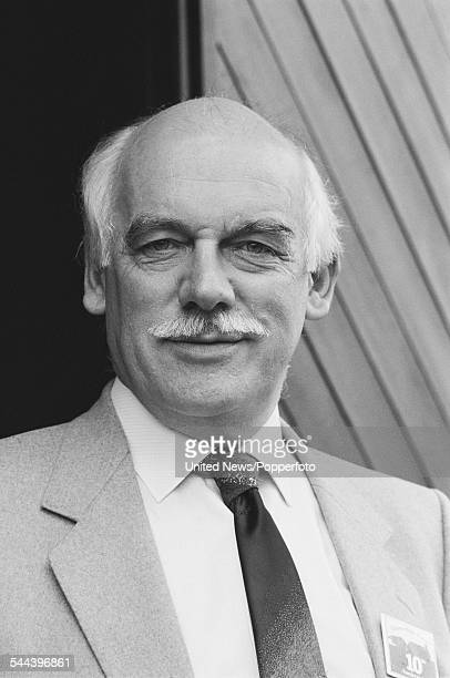 English actor Arthur Pentelow who plays the character of Henry Wilks in the television soap opera Emmerdale Farm pictured on 11th October 1982