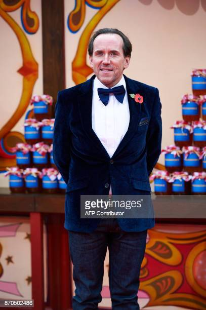 English actor Ben Miller poses upon arrival to attend the World Premiere of the film 'Paddington 2' in central London on November 5, 2017. / AFP...
