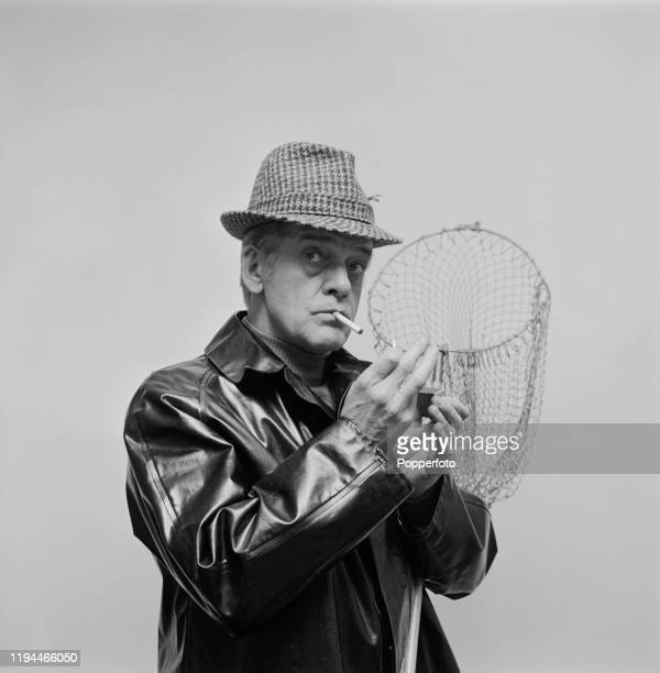 English actor Bill Owen dressed for a fishing trip in December 1967. Bill Owen currently plays the role of Lord Gormond in the television drama...