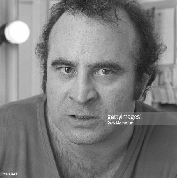 English actor Bob Hoskins 1985