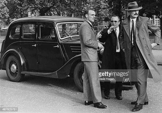 English actor Bob Hoskins as he appears in the film 'Lassiter' 1983