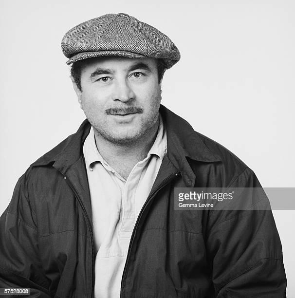 English actor Bob Hoskins circa 1985
