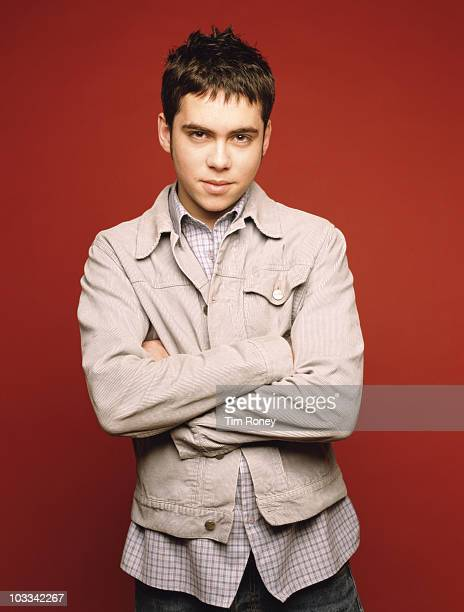 English actor Bruno Langley who appears on the television soap opera 'Coronation Street' 10th June 2003