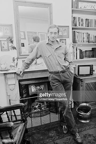 English actor Charles Dance posed at home in London on 21st March 1984