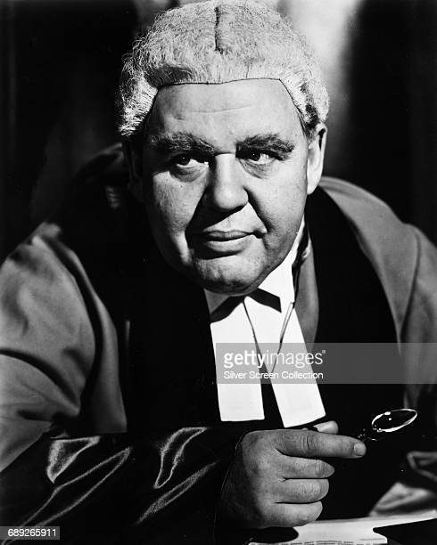 English actor Charles Laughton as Judge Lord Thomas Horfield in the film 'The Paradine Case' 1947