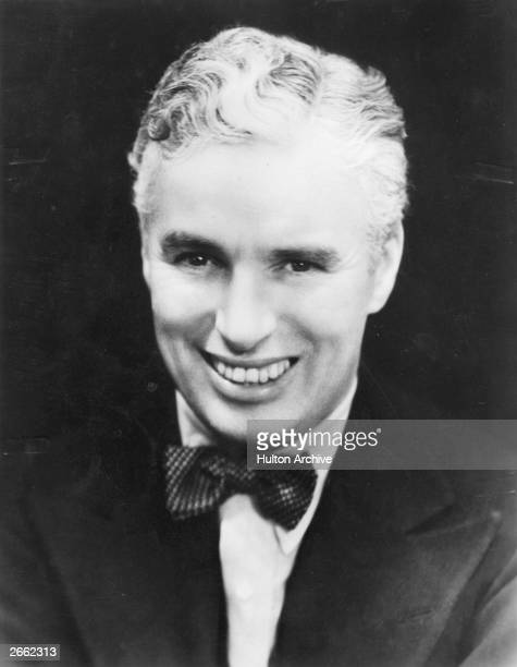English actor Charlie Chaplin