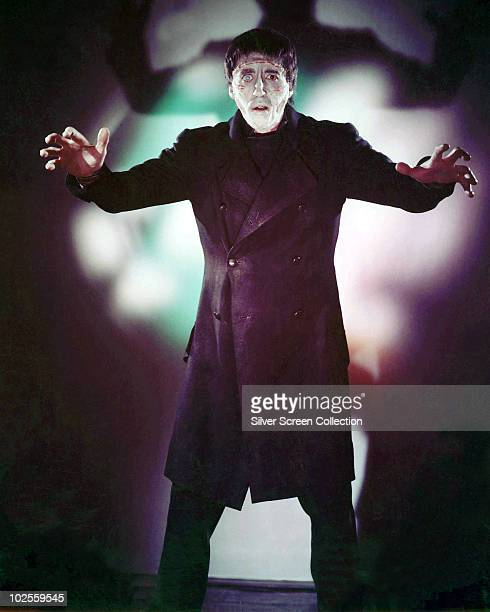 English actor Christopher Lee stars as the Creature in 'The Curse of Frankenstein', 1957.