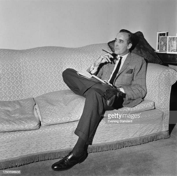 English actor Christopher Lee , UK, 24th December 1966.