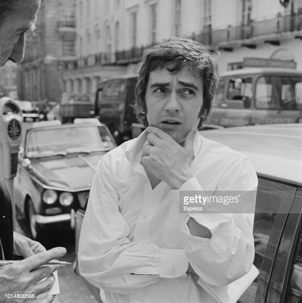English actor comedian musician and composer Dudley Moore London UK 8th August 1969