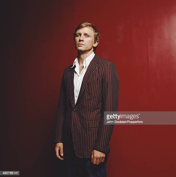 English actor Daniel Craig 2002