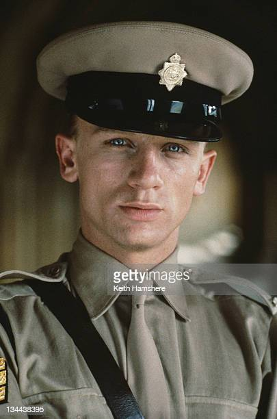 English actor Daniel Craig as Jaapie Botha a Sergeant in the Afrikaner police in the film 'The Power of One' 1992