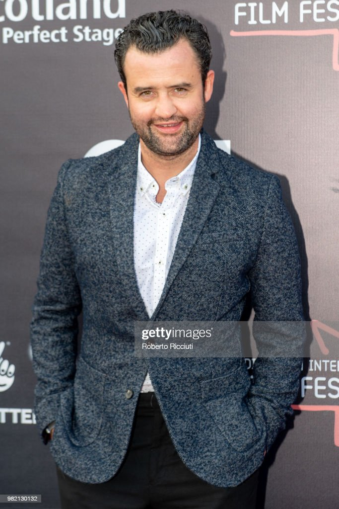 English actor Daniel Mays attends a photocall for the World Premiere of 'Two for joy' during the 72nd Edinburgh International Film Festival at Cineworld on June 23, 2018 in Edinburgh, Scotland.