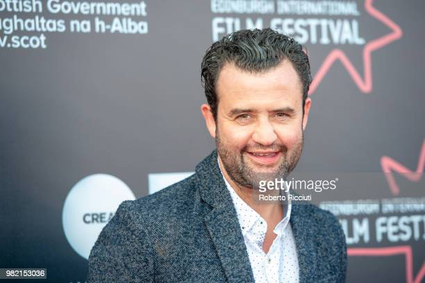 English actor Daniel Mays attends a photocall for the World Premiere of 'Two for joy' during the 72nd Edinburgh International Film Festival at...