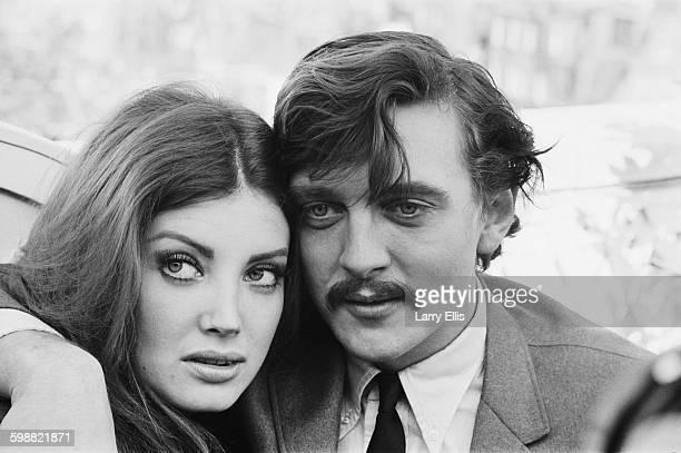 English actor David Hemmings and his wife actress Gayle Hunnicutt UK 22nd October 1967