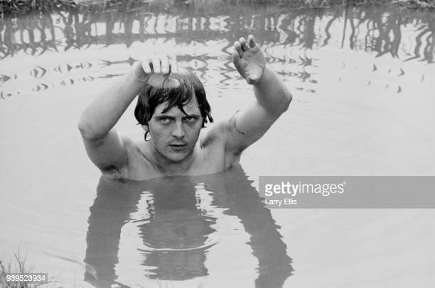 English actor David Hemmings on the set of epic film 'Alfred The Great' Ireland 22nd July 1968