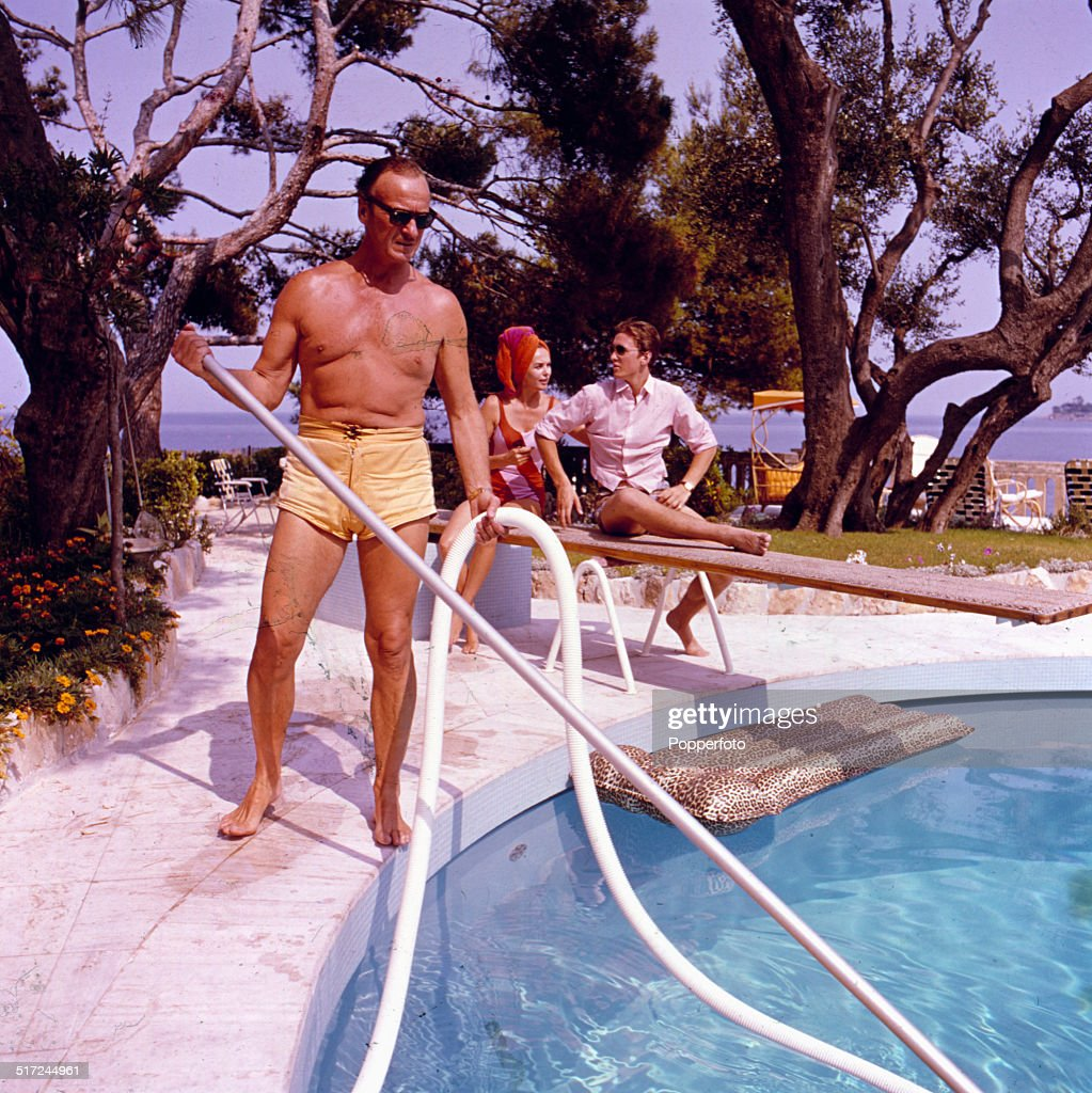 David Niven At Home : News Photo