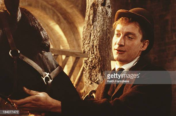 English actor David Thewlis as Jerry Barker in the film 'Black Beauty' 1994