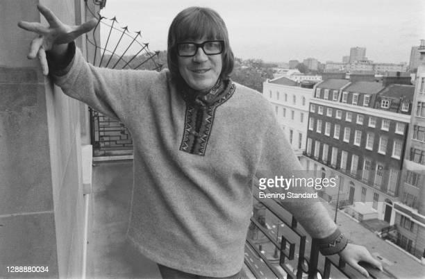English actor David Warner, UK, November 1971.