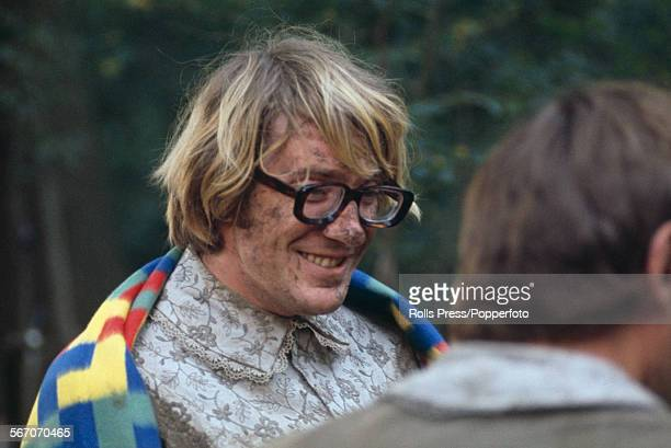 English actor David Warner who plays the character of Lysander in Peter Hall's film version of William Shakespeare's play 'A Midsummer Night's Dream'...