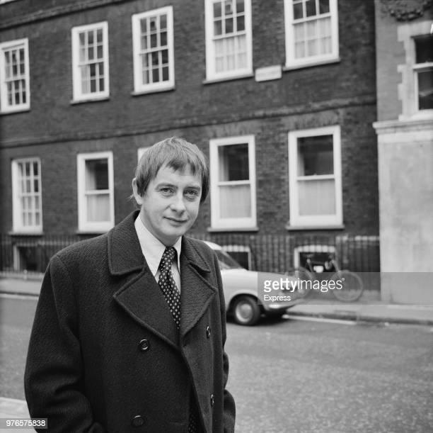 English actor Derek Fowlds after being granted divorce from his wife Wendy Tory London UK 8th November 1973