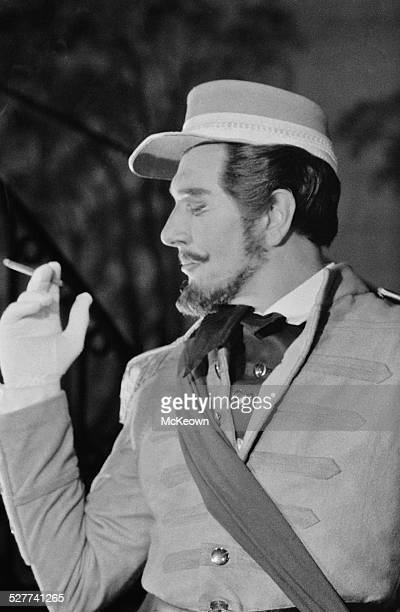 English actor director manager and author Michael Redgrave as 'Benedick' in 'Much Ado About Nothing' 18th August 1958
