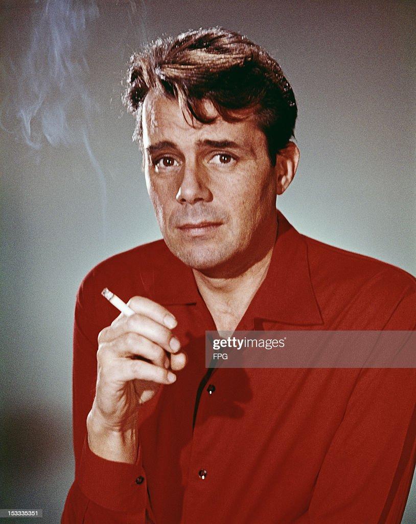 English actor Dirk Bogarde (1921 - 1999), circa 1957.