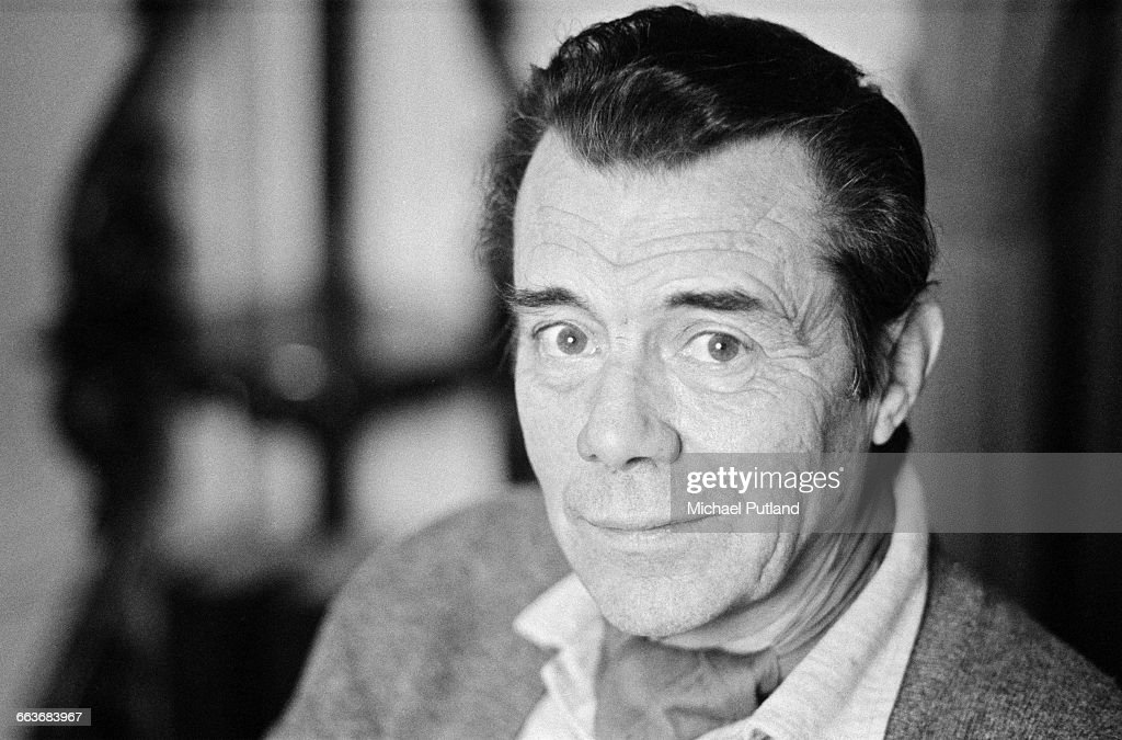 English actor Dirk Bogarde (1921 - 1999), February 1983.
