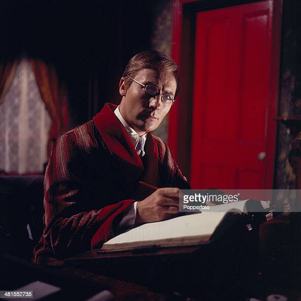 English actor Edward Woodward pictured in a scene from the television drama series 'Mystery & Imagination - The Listener' in 1968.