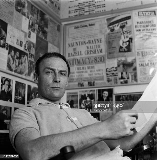 English actor Edward Woodward posed at home in June 1967. Edward Woodward currently plays the role of David Callan in the ABC Weekend Television...
